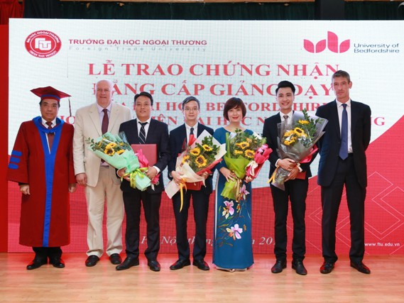 Recognition for Lecturers of joint training programs from University of...