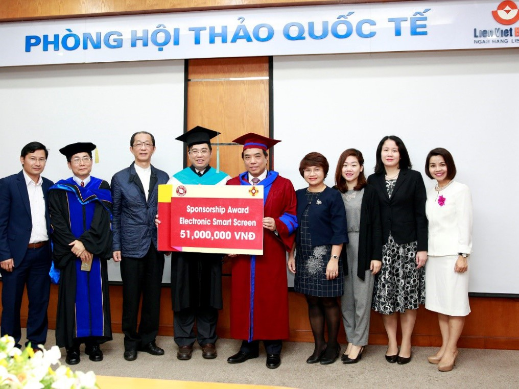 Sponsorship Awards from Meiho University to Foreign Trade University in...
