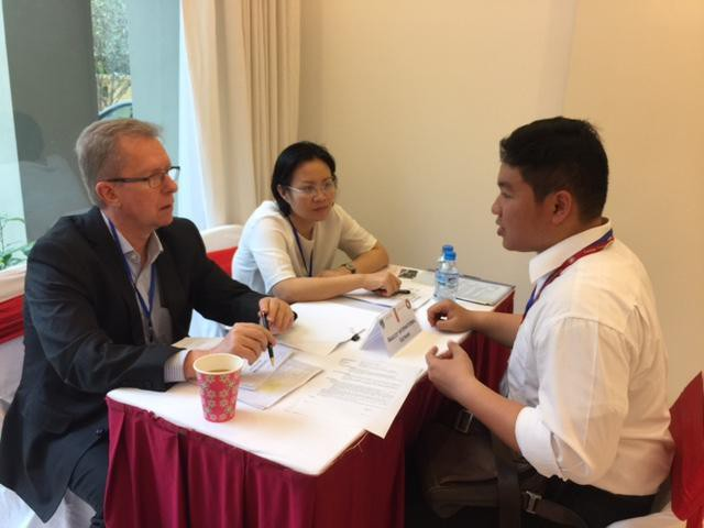 The Danish Ambassador organised the 3rd Job Fair for students from Faculty of International Education, FTU