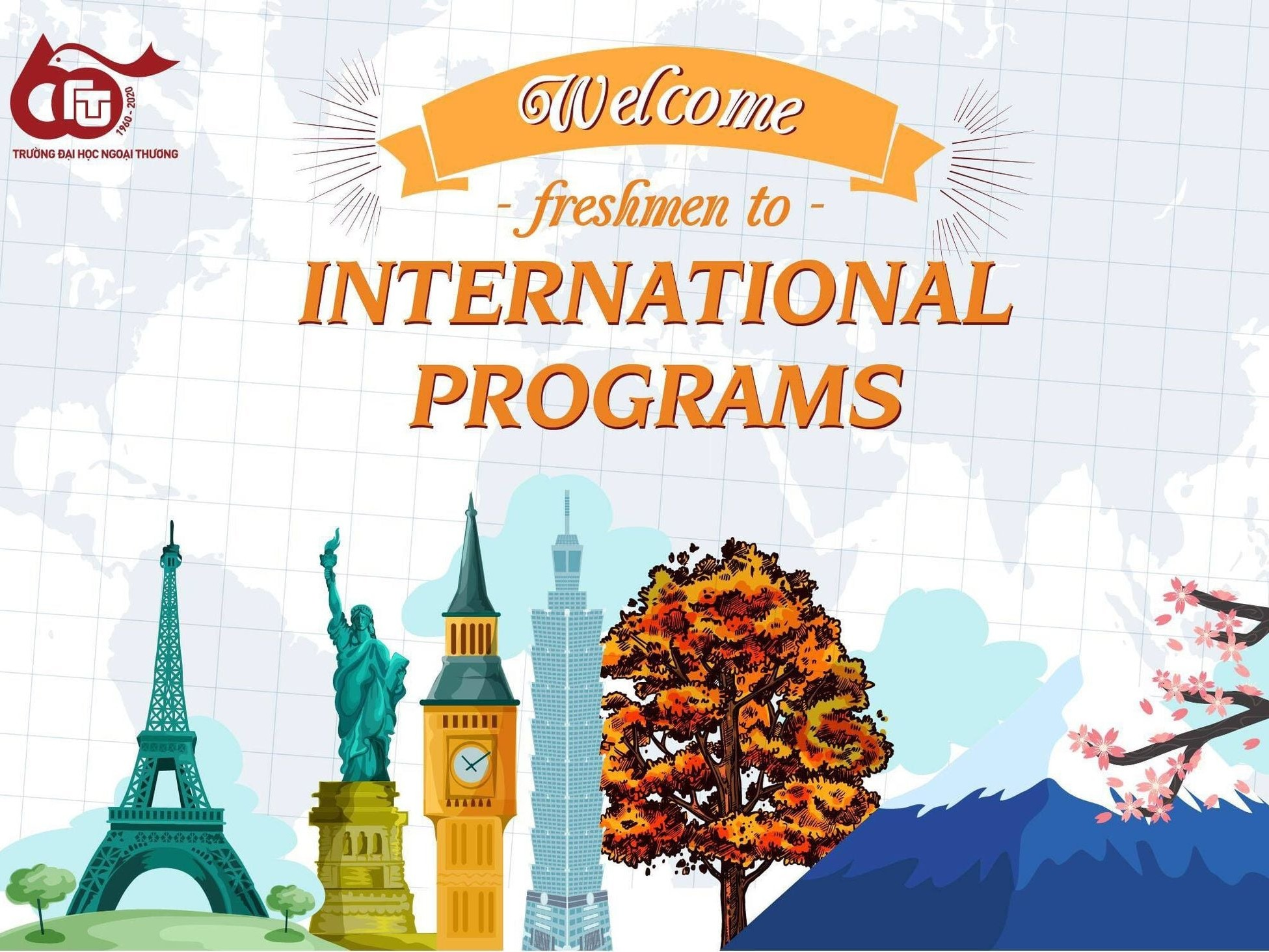 WELCOME FRESHMAN TO INTERNATIONAL PROGRAMS!